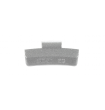 IAW020Z IAW Type Wheel Weight-Coated 20g. - Zinc