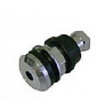 501 Truck And Bus Tubeless Tire Valve 1.50in. - Chrome Stem Qty 100