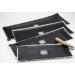 PR-156 Radial Cloth Black 28.75 x 10.75in. Qty 2