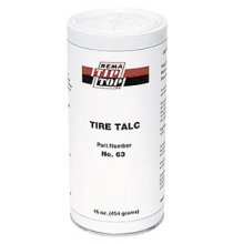 63 Tire Talcum - Shaker Can 500g.