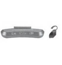 P025ZU Pass. Weight Uncoated .25oz-Zinc 25/Box