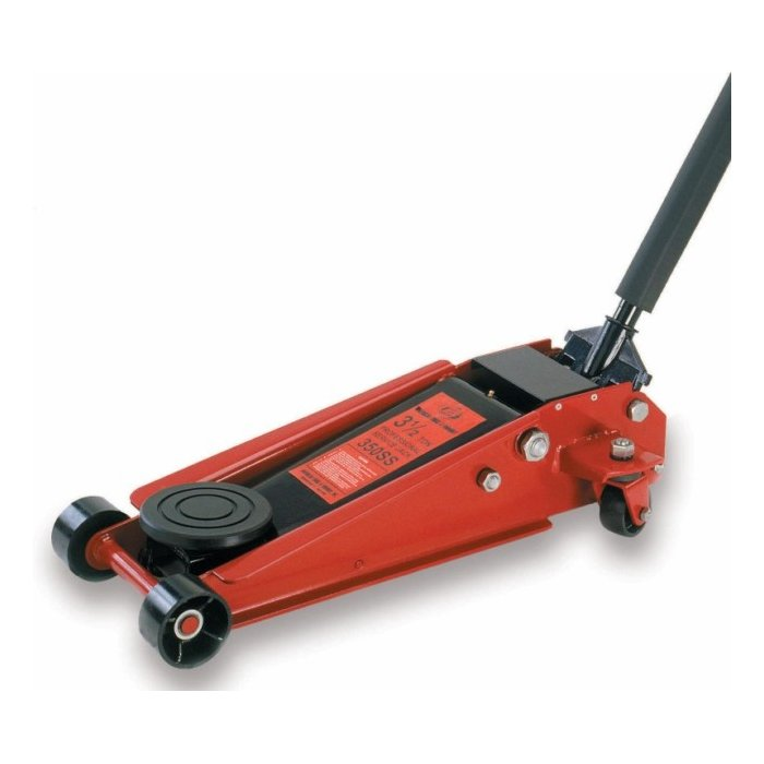 Af350ss 3 1 2 Ton H D Double Pumper Floor Jack Service