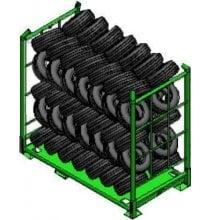 MEC Eurocage Tire Rack