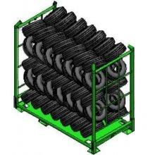 MEC-50 MEC Eurocage Tire Rack
