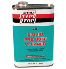 71-F Liquid Pre-Buff Cleaner - Flammable 32oz.