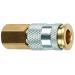 C90 1/4in. FNPT Hi-Flo/HLVP Coupler - Brass