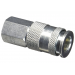C98 1/4in. FNPT Hi-Flo/HLVP Coupler - Steel
