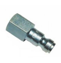 CP2 Steel Coupler Plug 1/4in. FNPT Qty/1