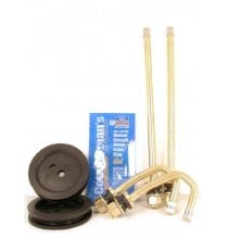 DL1E Brass Duallyvalve Kit