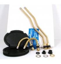 DL4GMC Brass Duallyvalve Kit