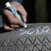 51420 Markal Tire Marker - White Qty 12