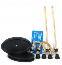 DL3F Brass Duallyvalve Kit