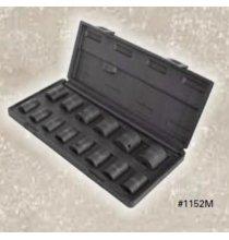 1152M 1/2in. DR 14 Piece Metric Standard Set