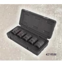 SO2185M 3/4in. DR 5 Piece Truck Impact Socket Set