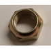 304L Cap Nut Left Hand M30 X 1.5 Thread - Yellow Zinc