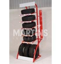ASMSTDN Showroom Tire Display Black