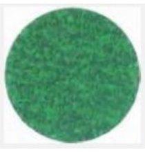 TM3R036P Premium Green Zirconia 3in. Roloc Disc 36 Grit