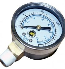 01.106 Pressure Gauge for Cheetah Bead Seaters