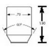 98-0117 12mm x 1.5 Tuner Nut 6 Point Qty:1