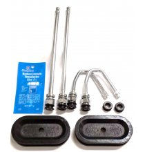 DL1SP Chrome Dually Valve Kit