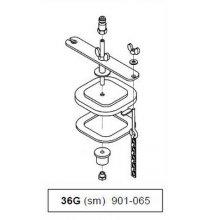 901-055 Dual Reservoir Adapter