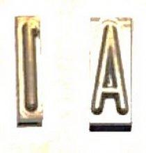 45-717 1 Elrick 1/2in. Tire Brander Number 1