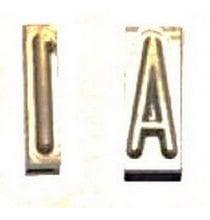 45-717 Y Elrick 1/2in. Tire Brander Letter Y