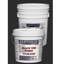 TC-25-7 Black Tire Paint 10 to 1 Concentrate 5Gal.