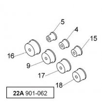 901-062 7 Pc. Expanding Adapter Set