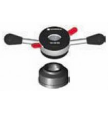 124-408-006 Steel ProGrip Quick Nut with Handles and Pressure Cup 40mm-8mm