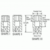 22033MD 1/2in. Drive x 33mm Deep Length Metric Impact Socket - Diagram
