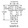 2042D 1/2in. Drive x 1-5/16in. Deep Length - Fractional