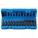9712UM 1/4in. Drive Standard Length Surface Drive Universal Metric Set - 12 Piece - With Molded Case