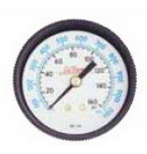 1191 Pressure Gage 1/4in. Center Back