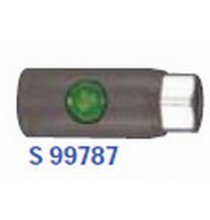 S99787 Push Button Safety Couplers 1/4in NPT Female