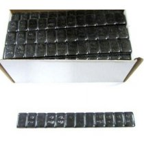 W-025SFEB Black Adhesive Weight .2oz. - Steel 52/Box