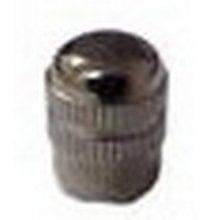 632 Valve Cap Nickel Plated Brass Qty 1
