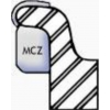 MC250Z Zinc MC Coated Wheel Weight 2.50oz. Qty 25