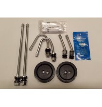 DL1ECFR Chrome Duallyvalve Kit With Front Stems