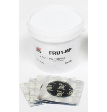 FRU1-P 1-Ply Patches 2-1/2in. 100/Pail