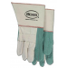 Heavy Hotmill Long Cuff 2 Ply Green - Large