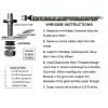 VHRG80B Black Rubber Grommet .453 Sprinter Use Qty 1