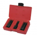 30115 Three Piece Lug and Lock Flip Socket Set