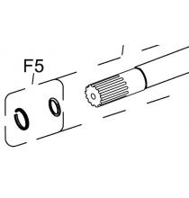8940169483 Anvil Spline Collar Kit - 5 Set