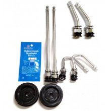 DL1FTCFR Chrome Duallyvalve Kit W/Front Stems