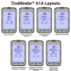 TM-A1A-4 TireMinder A1A TPMS With 4 Transmitters + Rhino Signal Booster