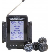 TM55c-B TireMinder TM55c TPMS With 4 Brass Transmitters + Signal Booster