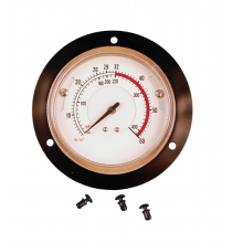 BW-1679-85 Air Inflation Gauge/Flange Mount Style