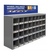 WALLRACK20 Wheel Weight Storage - Empty