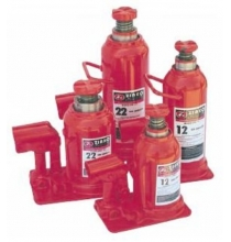 ZIZNB12 12 Ton Capacity Low Forged Steel Base Bottle Jack - Low